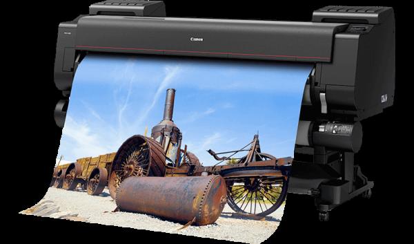 Canon imagePROGRAF PRO-6100 inkl. Untergestell und Roll Unit