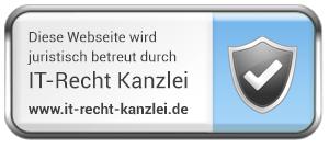 Logo_Juristisch_betreut_durch_ITRecht_KanzleiLogo_Juristisch_betreut_durch_ITRecht_Kanzlei