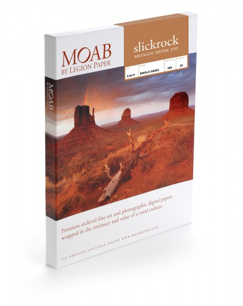 Moab Slickrock Metallic Silver 300